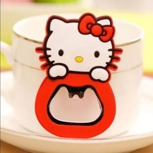 Hello Kitty Sanrio beer opener magnet