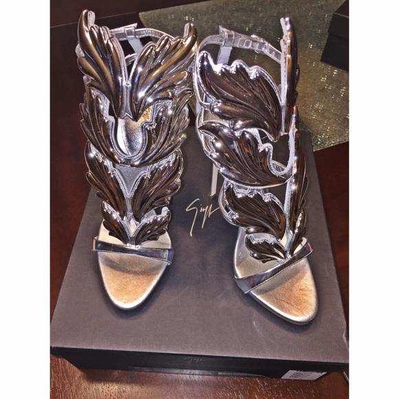 ab763fda68510 Giuseppe Zanotti Shoes | Cruel Summer Sandal Silver | Poshmark