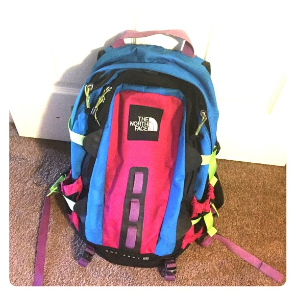 1a193dce40a1 Rare hot shot colorful backpack. M 567d729f620ff76cc60019c1
