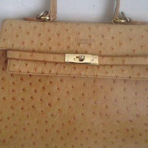 c00bf93148e Bags - Vintage Hermes ostrich skin bag