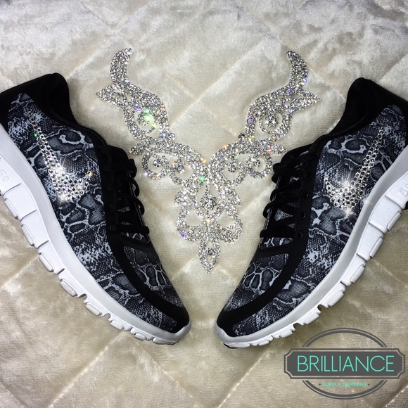 340882c6d25cd Nike Free 5.0 Snakeskin Print Swarovski Crystals NWT