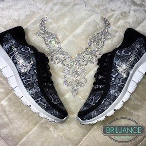 9b71a8b80d04 Nike Shoes - Nike Free 5.0 Snakeskin Print Swarovski Crystals