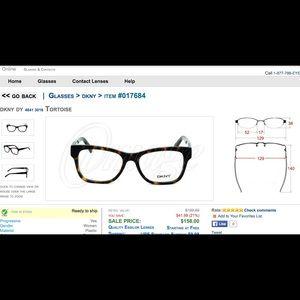 94d9c934a4 DKNY Accessories - DKNY prescription glasses DY4641 3016 turtoise NWT