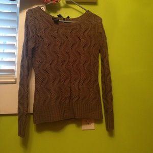 Rue 21 grey sweater