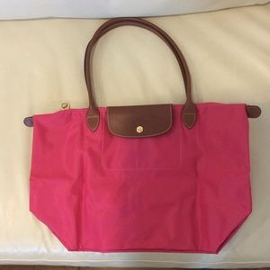Longchamp Bags - Longchamp Le pilage large Red garance aaf9739871ace