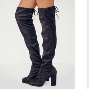 Free people North Star over the knee boots
