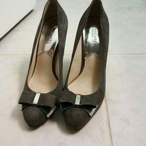 Michael Kors Suede Grey Shoes