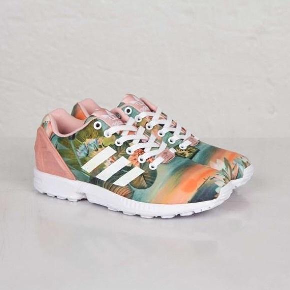 771e4acfd2291 ... free shipping adidas originals zx flux tropical w dust pink 9.5 bb553  d4b6d