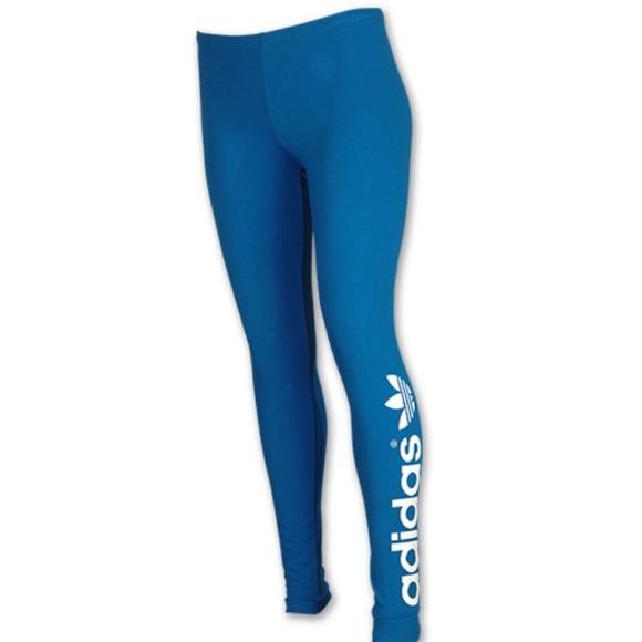 38ab94fd4e501 Adidas Pants   Originals Royal Blue Leggingstights   Poshmark