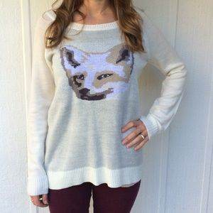 NWT Fox sweater