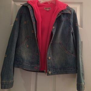 Jackets & Blazers - Denim Two-piece jacket