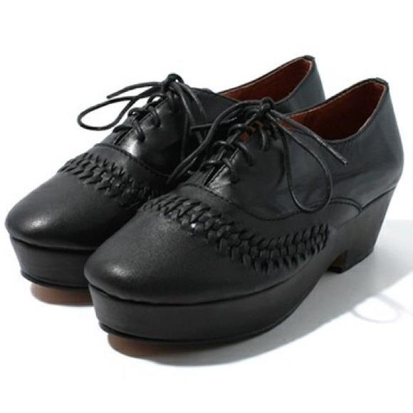 save off f4685 70918 Kobe Husk Shoes - Kobe Husk Black Flatforms