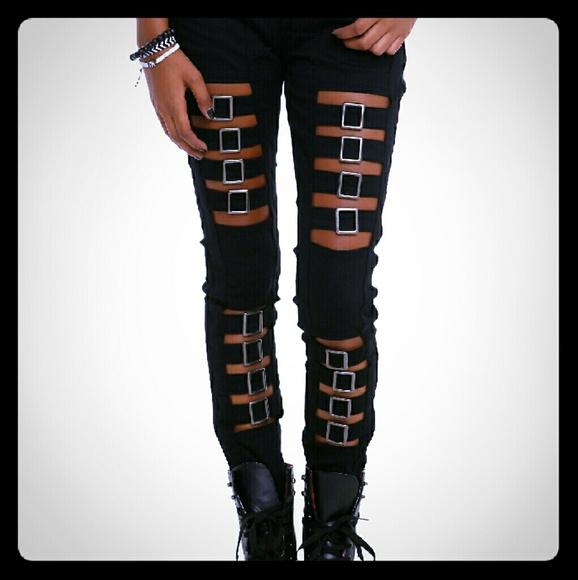 Skinny jeans bondage
