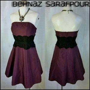 Behnaz Sarafpour Dresses & Skirts - Behnaz Sarafpour Lace Waist Poof Dress Jr 5 / 0-2