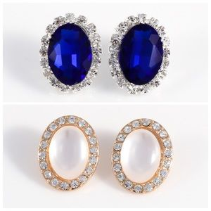 Bundle: Classic stud earrings