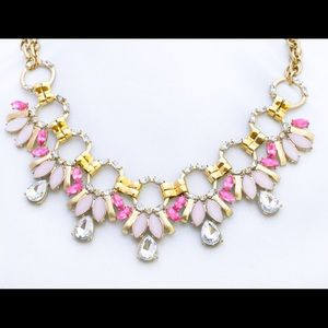 Dream in pink statement necklace