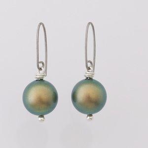 Swarovski Jewelry - Swarovski pearl earrings