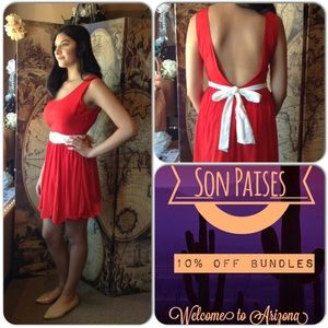 Ark & Co Dresses & Skirts - Red Dress 5 ⭐️ Rated 📍SALE PRICE📍