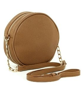 Deux Lux Perforated Circle Crossbody