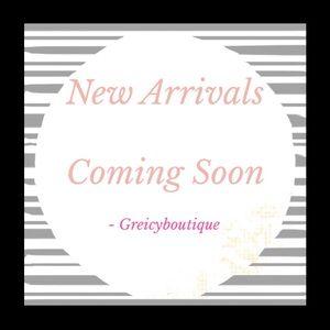 New Arrivals Coming Soon Beauties ☺️