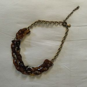 Jcrew Tortoise Shell and Sparkle Statement