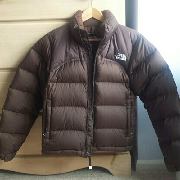 d41301a16 The North Face Brown Women's NUPTSE Puffer Jacket