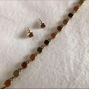 Avon Jewelry - ⭐️SALE⭐️ Matching Multicolor Earrings & Bracelet