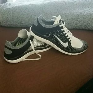 Nike Free 4 0 Flyknit Oreo Donna gs7vyS
