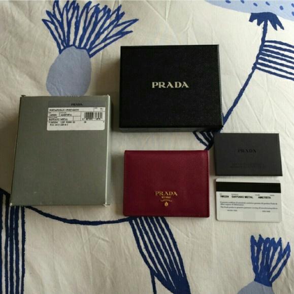 aee189242d Prada Bifold Wallet