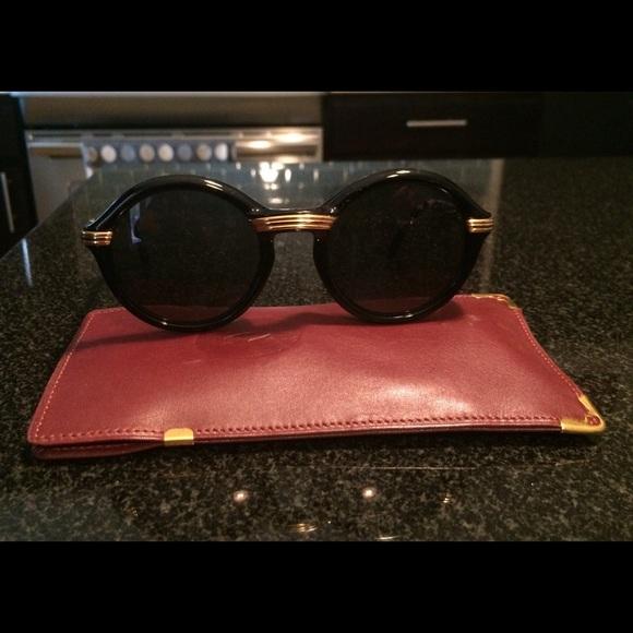 df5479cc39 Cartier Accessories - Black Cartier Cabriolet Sunglasses
