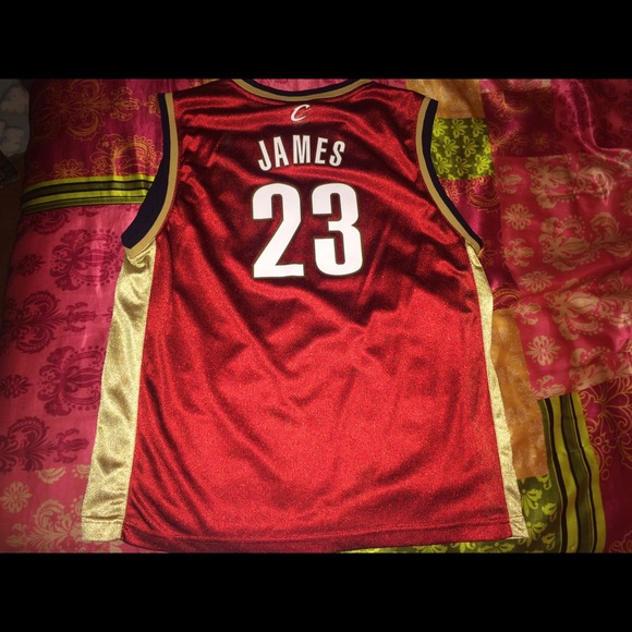 wholesale dealer 1d38d b53d3 Reebok Lebron James Jersey Youth XL