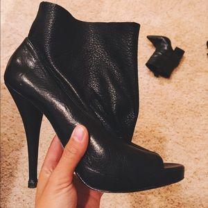 DV by dolce vita open toe ankle bootie