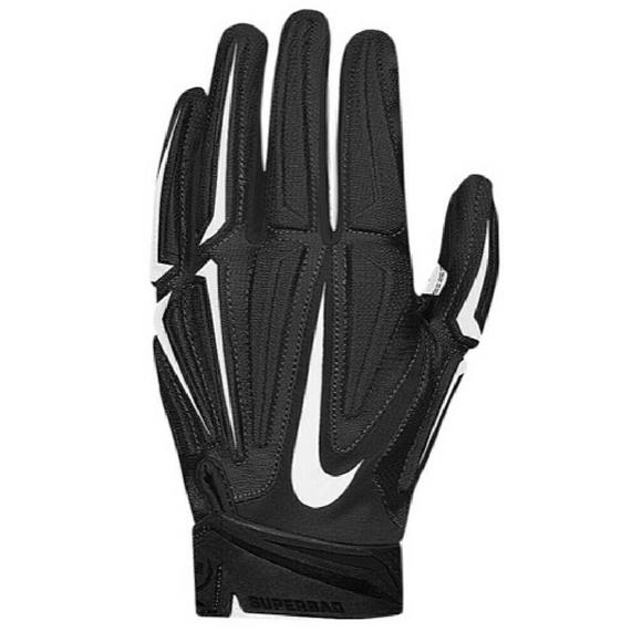 Nike Gloves Football: Nike Superbad 3.0 Black And White Football Gloves