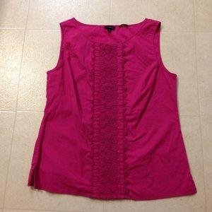 Talbots Tops - Bright pink Talbots top