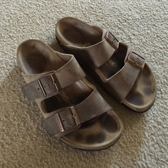 9a81d8c63409 Birkenstock Shoes - Birkenstock Arizona Tobacco Oiled Leather