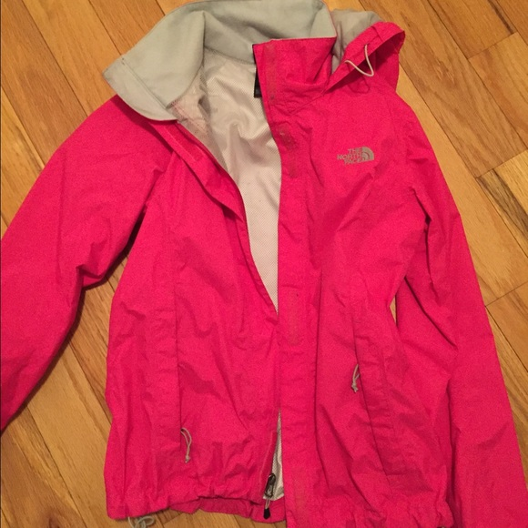 The North Face - small hot pink north face rain jacket from ...