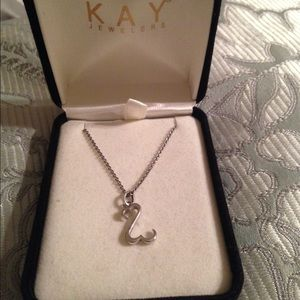 Kay open heart necklace