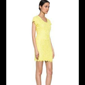 Diane von Furstenberg Dresses & Skirts - Diane Von furstenberg limoncello nwt lace dress