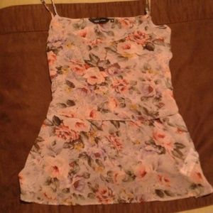 Size 12 Floral Top From New Look