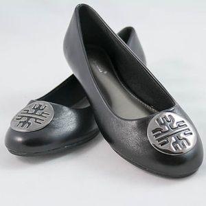 Pierre Dumas Shoes - Pierre Dumas Black Ballet Flats