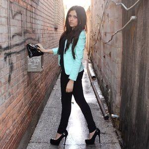 H&M Jackets & Blazers - Mint Blazer