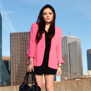 Karen Scott Jackets & Blazers - Hot pink Blazer