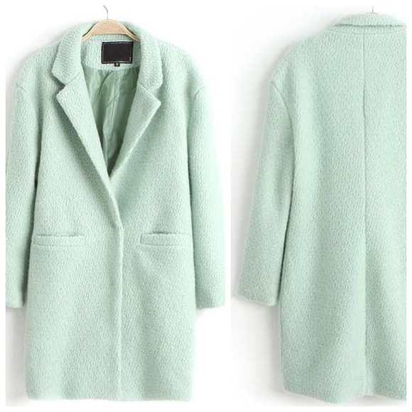 search for clearance various colors suitable for men/women Mint Coat