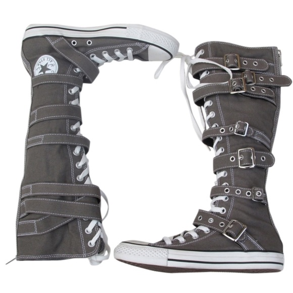 0d80dffe0ea Converse Shoes - NEW Knee High Buckles Converse Shoes
