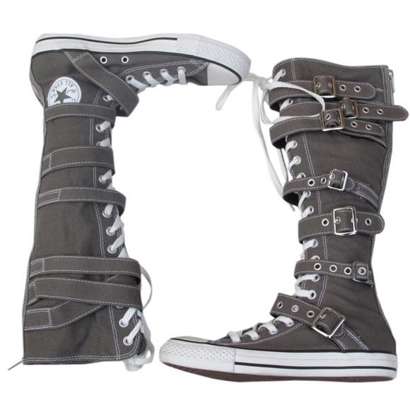 converse knee high tops