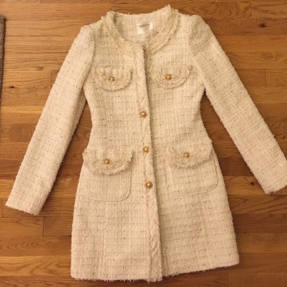 Fantastic Chanel Style Tweed Coat | Poshmark QU26