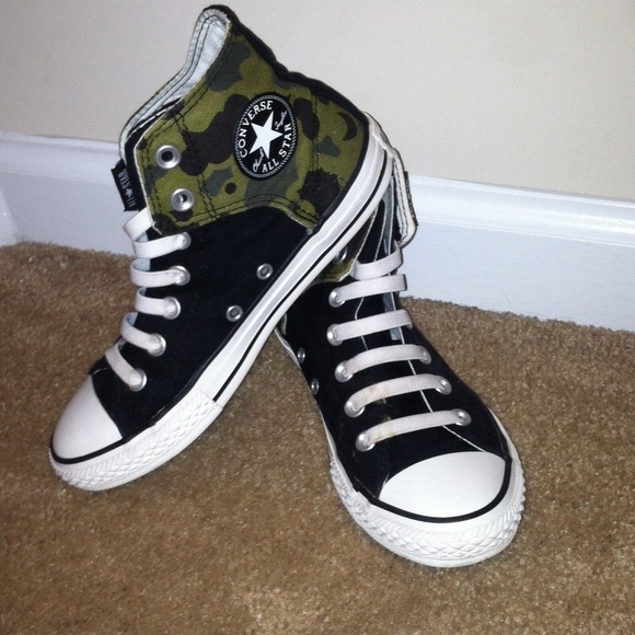 4eb2bf9b907d Converse Shoes - Camouflage converse