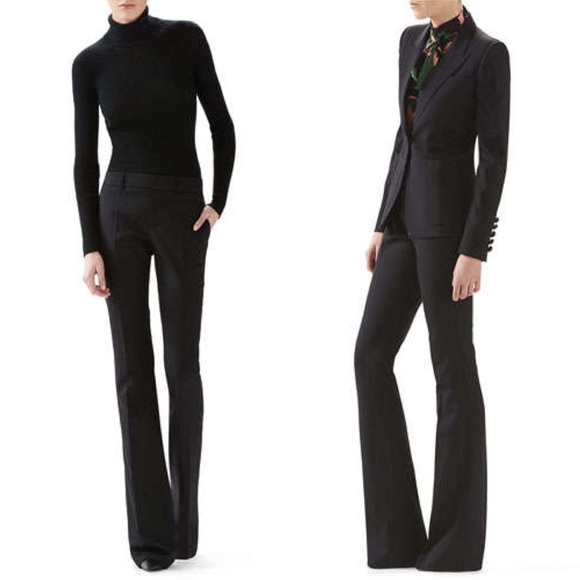 38% off Gucci Pants - Gucci wool skinny flare dress pants [IT 44 ...