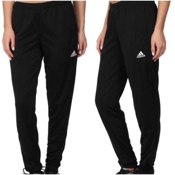 Adidas Pants - Adidas black climate Joggers with zipper bottom 3e78372fe
