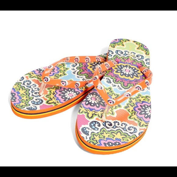 f233a90de2b492 Vera Bradley Flip Flops Rio Size 7 8 NWT